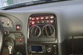 Круглые дефлекторы печки на ВАЗ 2110