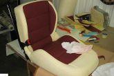 чистим чехлы сидений после перетяжки