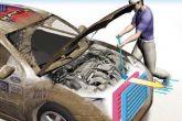 схема чистки радиатора автомобиля