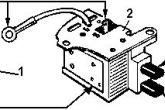 схема проверки регулятора напряжения ваз старого образца