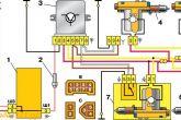 схема подключения центрального замка ВАЗ 2110