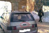 ручка пятой двери автомобиля ВАЗ 2111