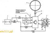 Схема системы зажигания двигателя МеМЗ 3071/307 (1.3 Li)