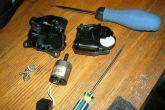 Ремонт микромотор редуктора печки нового образца ВАЗ 2110-12