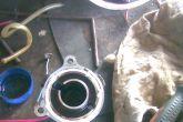 герметик на заглушке трамблера