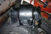 Снимаем переднюю часть корпуса вентилятора отопителя