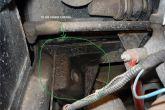 протекание тосола радиатора отопителя ВАЗ 2110