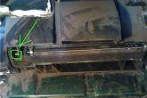 педалька для заслонки на кожухе отопителя ваз 2110