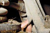 поиск разрывов чехлов подвески
