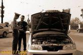 проверка технического состояния автомобиля инспектором ДПС