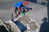 Самостоятельный ремонт дороги цементом