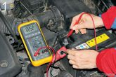 замеры тока утечки аккумулятора