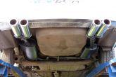 установка двойного выхлопа ваз 2110