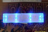 оргстекло и светодиоды для подсветки номерного знака