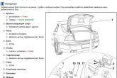 схема привода автозакрытия багажника на иномарке