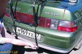 багажник в задней части автомобиля ВАЗ 2110