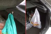 Установка крючков в багажник