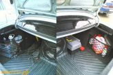 Установка сетки в багажник