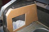 шаблон стенок багажника из картона