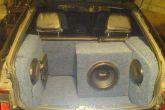 багажник ВАЗ 2112 из фанеры и ковролина