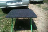 пол багажника - раскладной столик