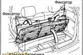 Toyota Ipsum/Picnic раскладной стол и стулья
