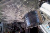сопло на коробе воздушного фильтра обматываем изолентой