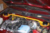 распорка передних стоек с доп.штангой подвески двигателя