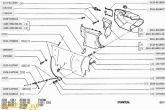схема отопителя ВАЗ 2110 с рециркуляцией