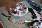 плафон салона от Калины в ВАЗ 2110