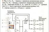 схема №2 подключения дополнительных боковых фар