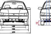 схема расположения ДХО на ВАЗ 2110