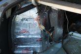 шумоизоляция багажника ВАЗ, первый слой вибра