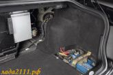 аккумулятор в багажнике BMW E46