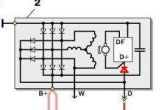 диод в цепи D, регулятора напряжения
