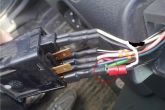 подключение светодиода в кнопке габаритов ВАЗ 2110