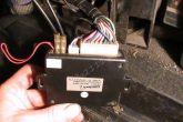 контакт для включения магнитолы на блоке сигнализации
