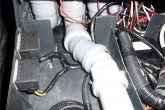 установка реле ЗПТФ в тоннеле и проводка