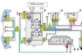 схема подключения в авто плавного выключения ламп