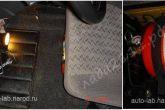 огнетушитель под креслом водителя
