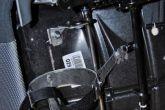 установка крепления огнетушителя под сиденьем
