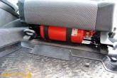 огнетушитель под сиденьем водителя