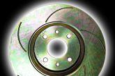 тормозные диски газоотводами
