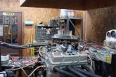 динамометрический стенд для двигателя