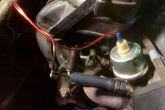 подключение дополнительного датчика давления масла ваз 2110