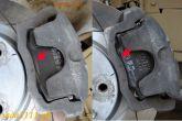 колодки от Fiat (артикул: 13.0460-2813.2) и штатные колодки ваз