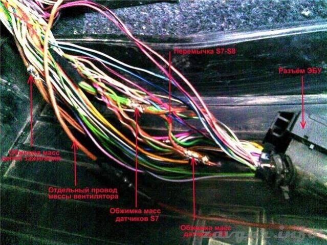Фото №24 - многочисленные пропуски зажигания ВАЗ 2110