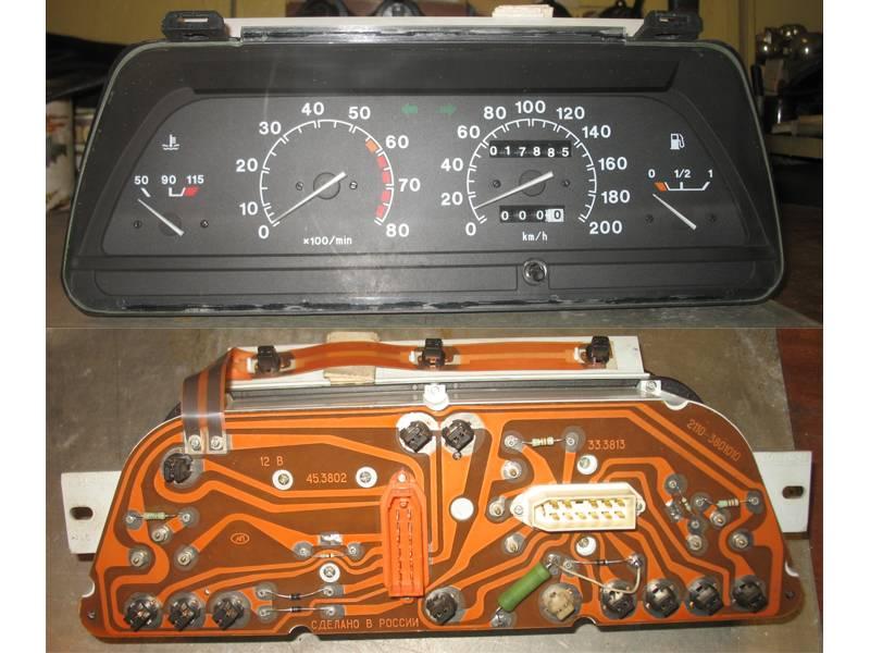 Фото №47 - приборы панели ВАЗ 2110