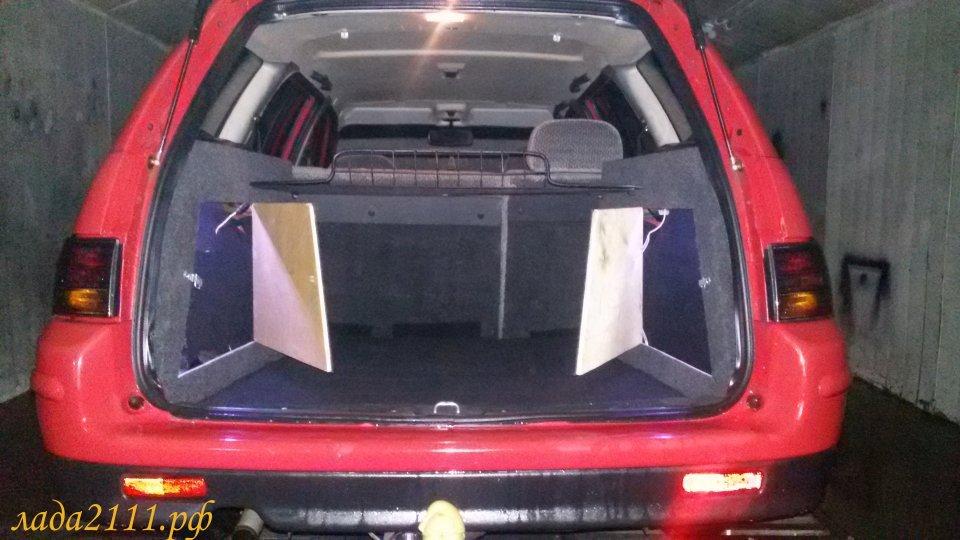Тюнинг багажника ваз 2111