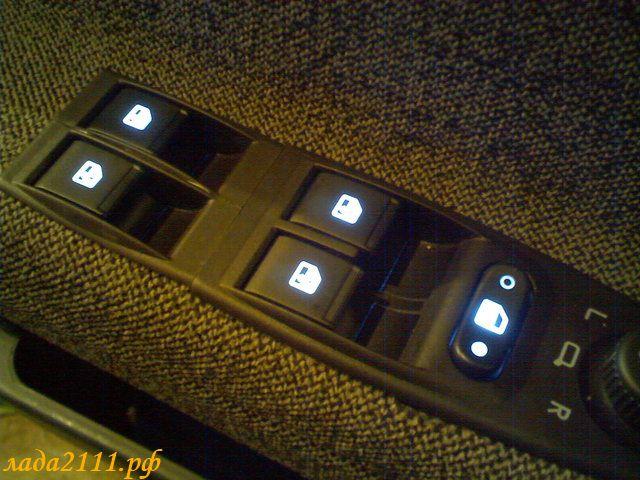 Кнопки ЭСП Калины на ВАЗ 2110